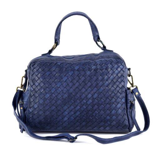 DILETTA Hand Bag Woven Navy