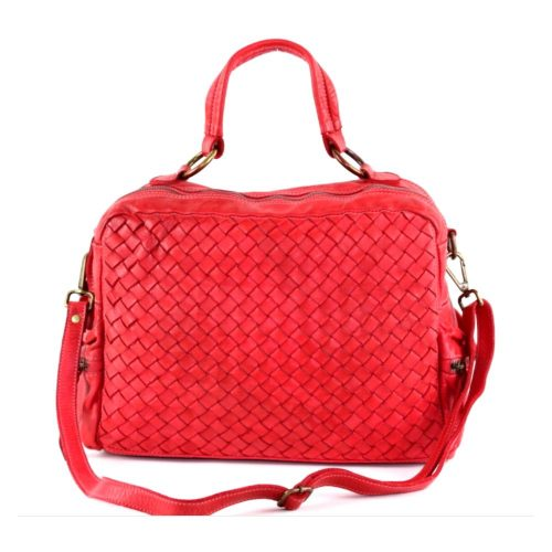 DILETTA Hand Bag Woven Red