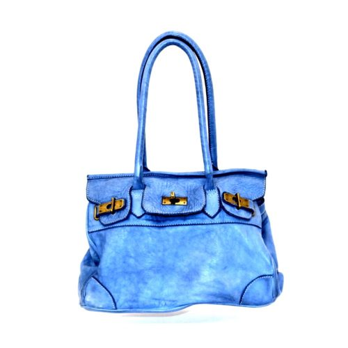 BABY ALICIA Small Structured Bag Denim