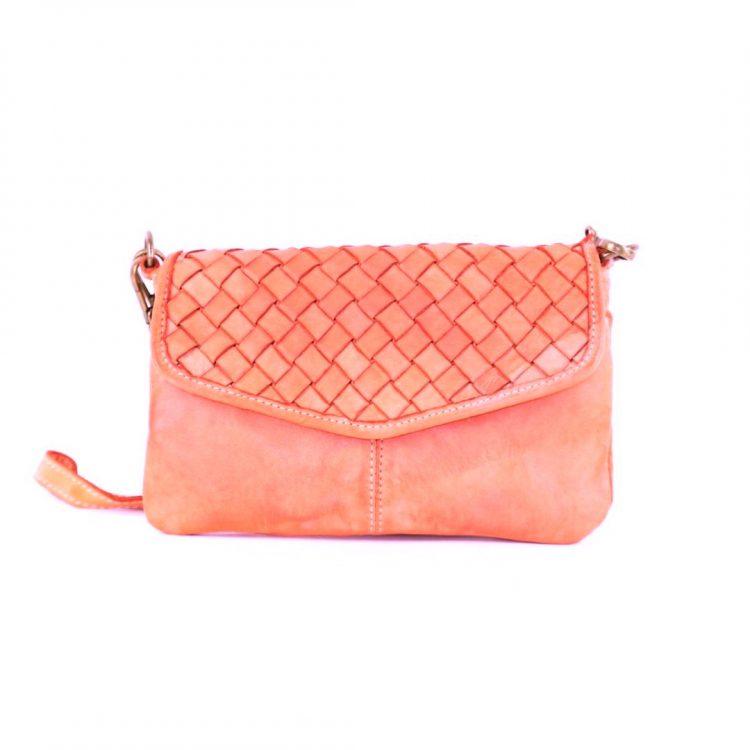 SELENE Wristlet Bag Coral