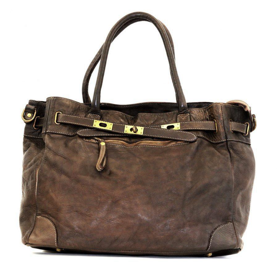ARIANNA Hand Bag Dark Brown