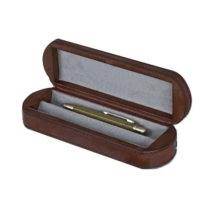 Leather Pen Box