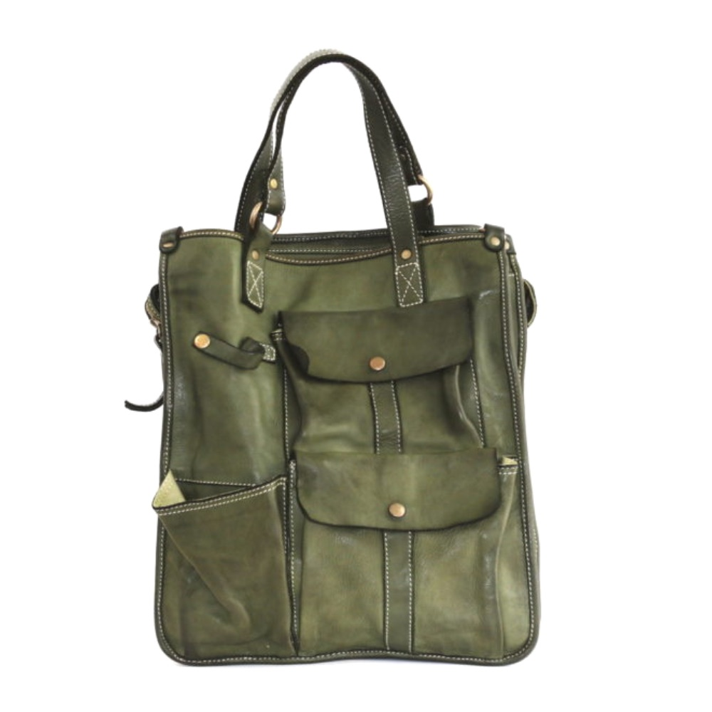 ROBYN Business Bag With Pockets Army