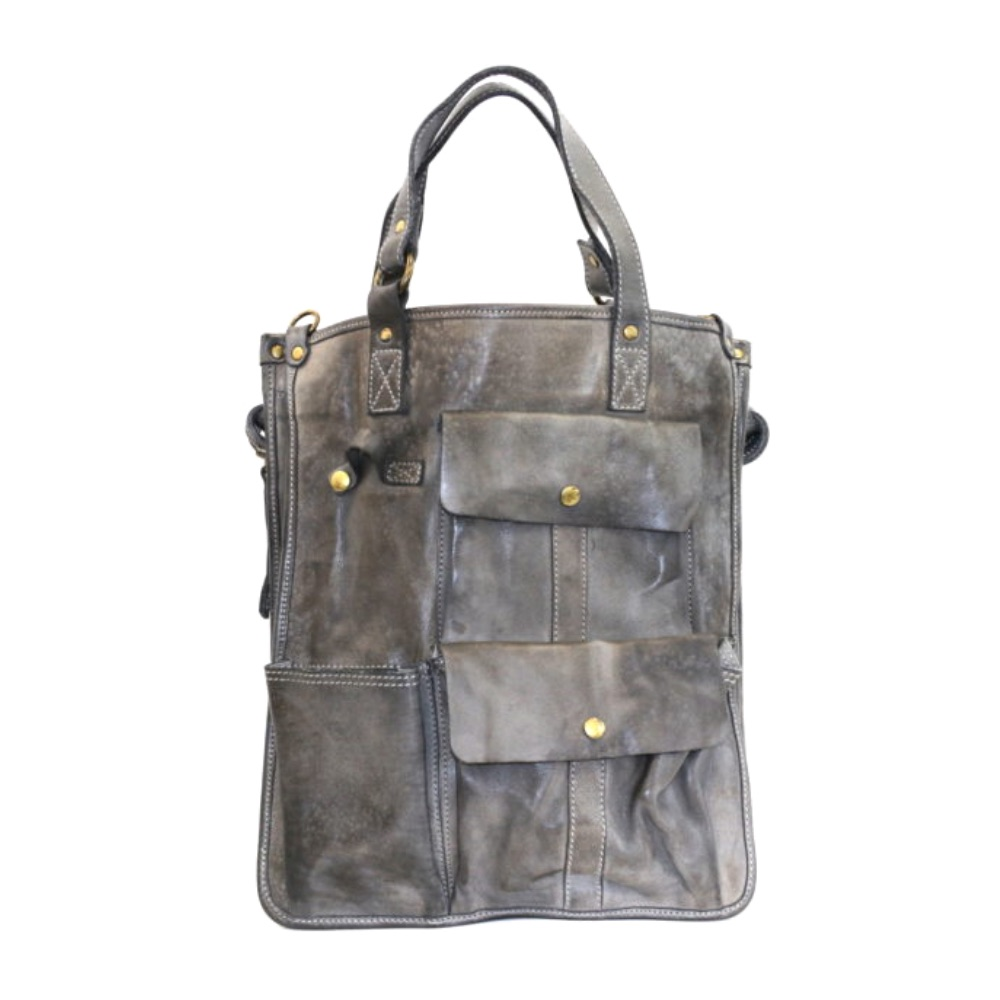 ROBYN Business Bag With Pockets Grey