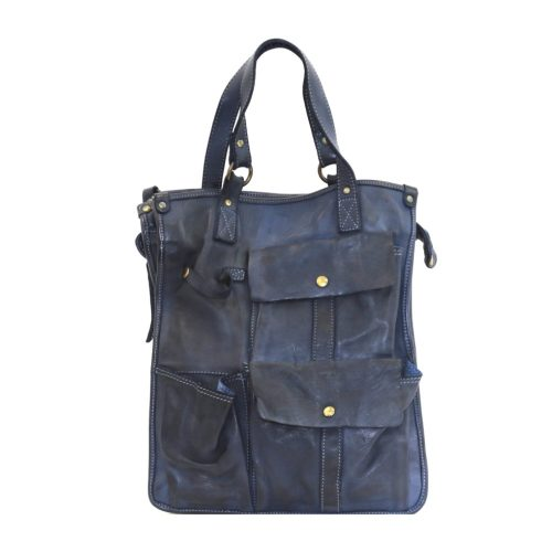 ROBYN Business Bag With Pockets Navy
