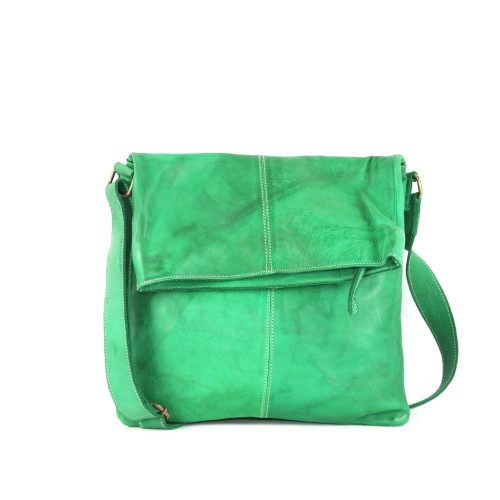 SASHA Crossbody Bag Emerald Green