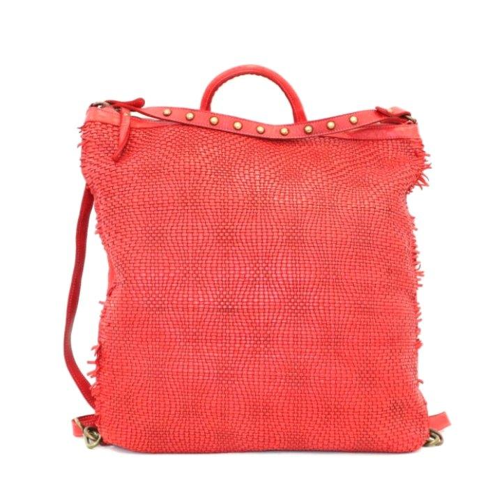 ZAIRA Convertible Rucksack Red