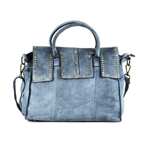 ANITA Hand Bag Blue Grey