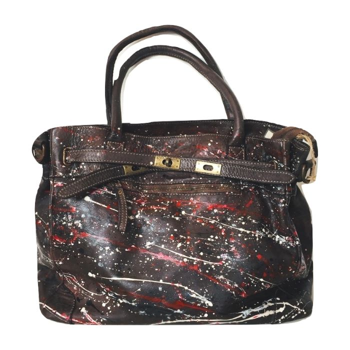 ARIANNA Hand Bag Dark Brown Limited Edition