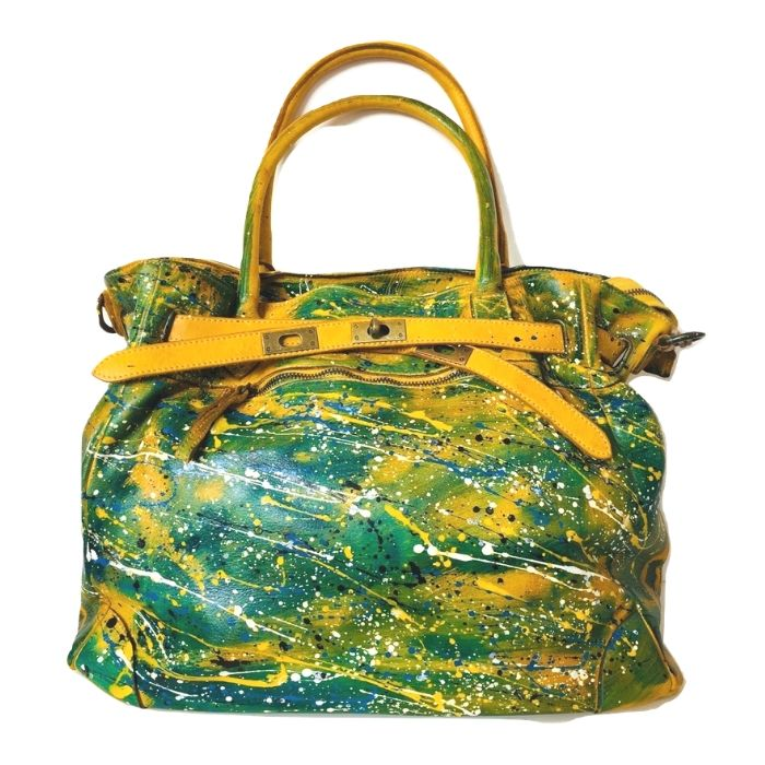ARIANNA Hand Bag Mustard Limited Edition