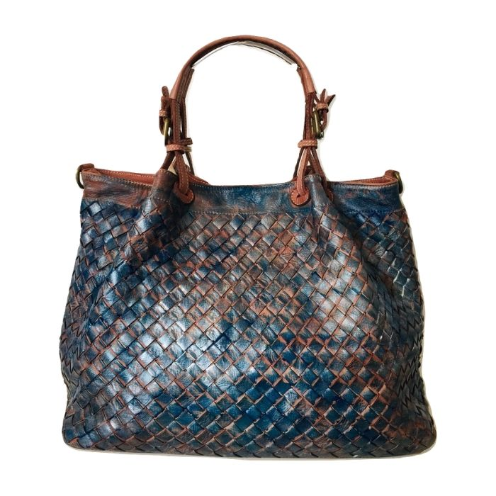 LUCIA Tote Bag Large Weave Blush Limited Edition