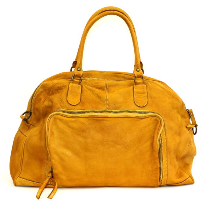ALMA Travel Bag Mustard