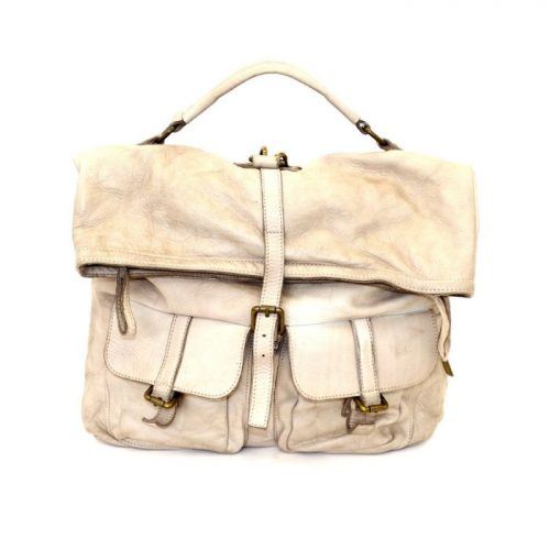 RACHELE Backpack With Two Pockets Beige