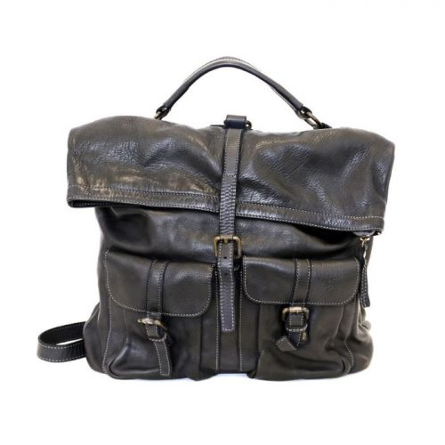 RACHELE Backpack With Two Pockets Black