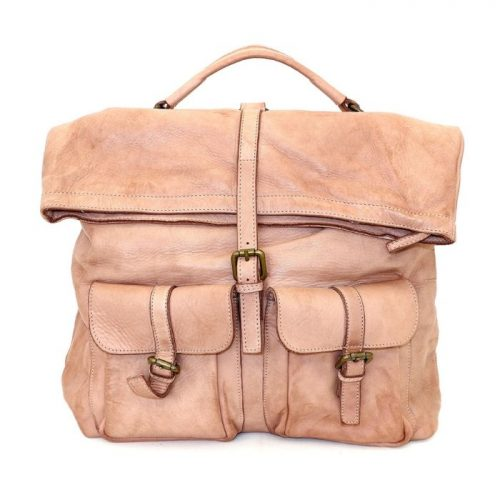 RACHELE Backpack With Two Pockets Blush