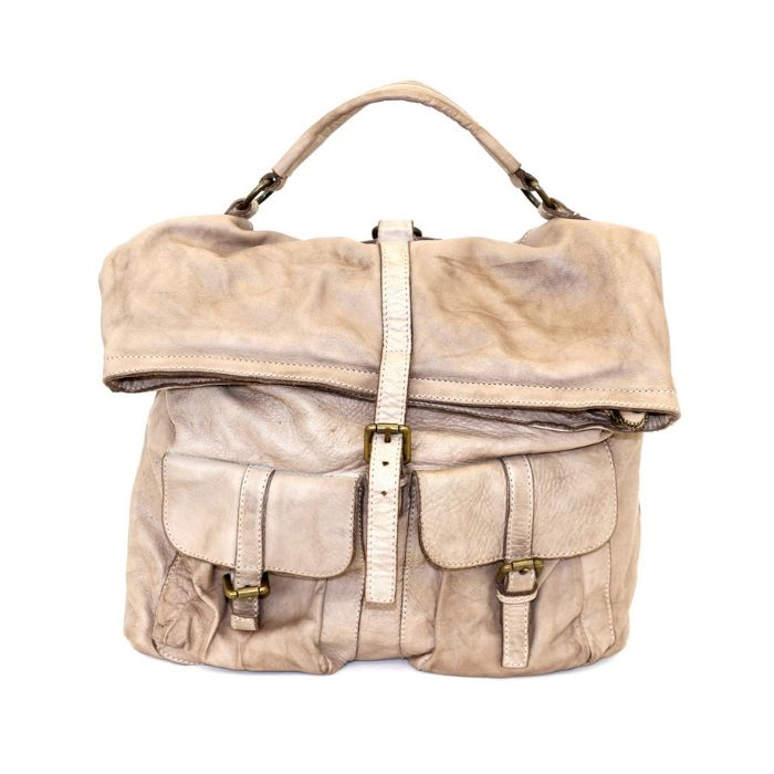 RACHELE Backpack With Two Pockets Light Taupe