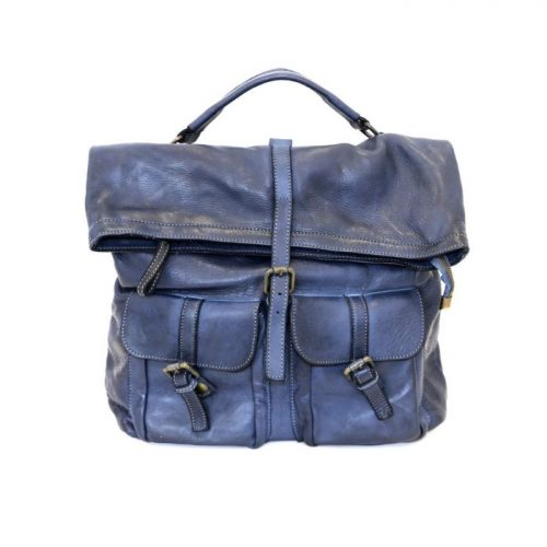 RACHELE Backpack With Two Pockets Navy
