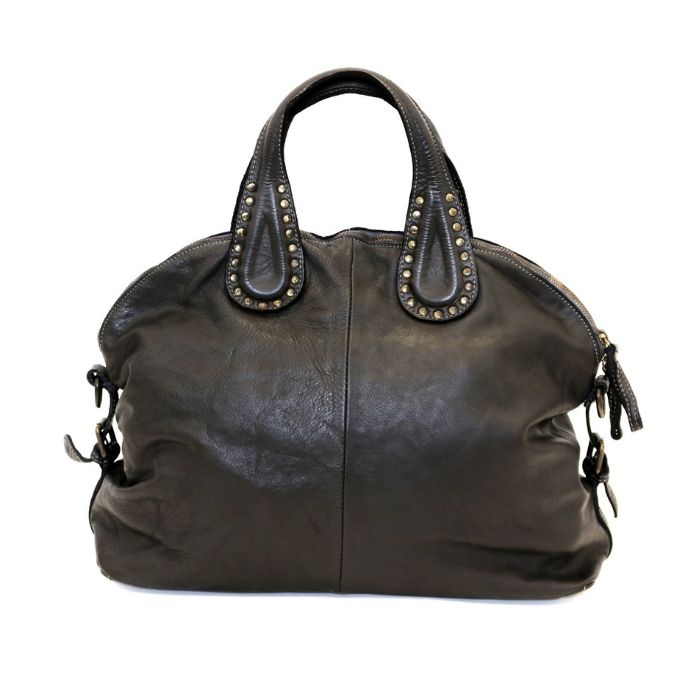 LILIANA Handbag With Studded Handle Black