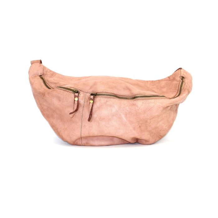 LUNA Oversized Crossbody Bumbag Blush