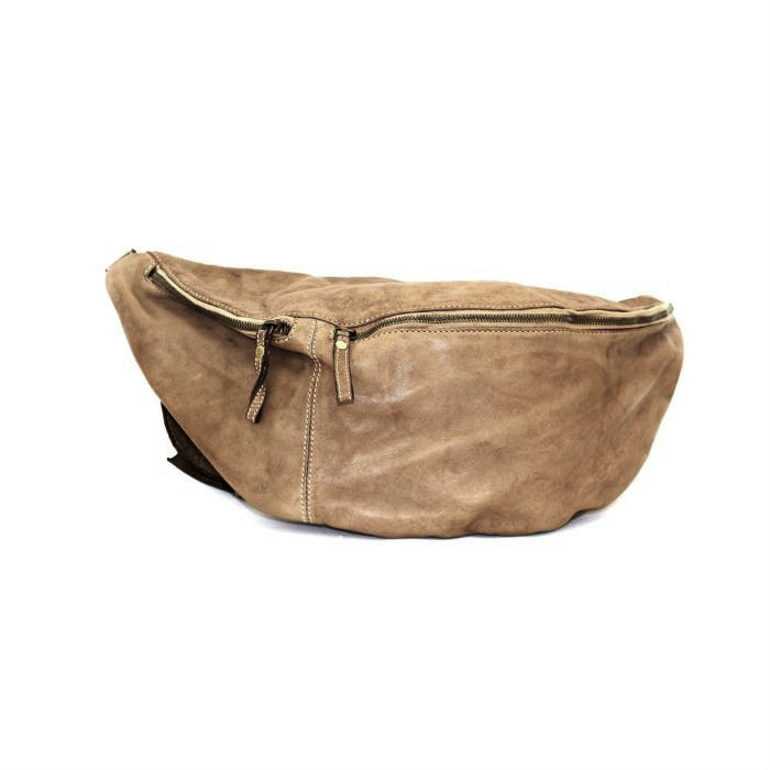 LUNA Oversized Crossbody Bumbag Light Taupe
