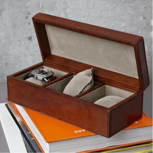 Classic Three Watch Box