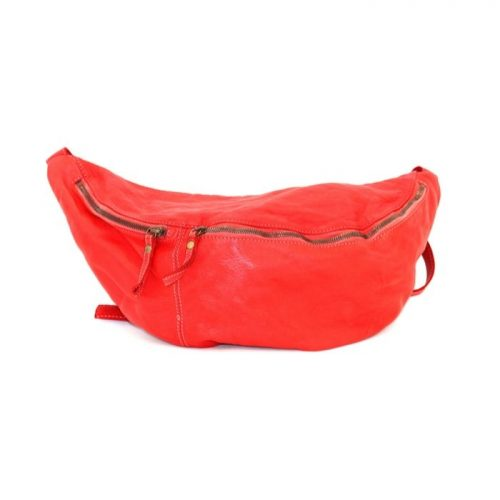 LUNA Oversized Crossbody Bumbag Red