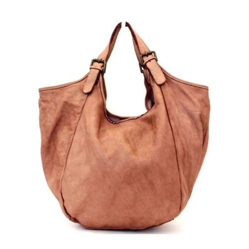 MATILDE Slouchy Hobo Bag Blush