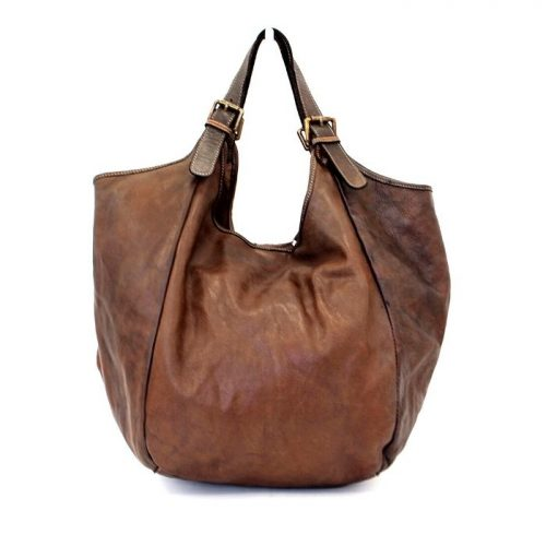 MATILDE Slouchy Hobo Bag Dark Brown