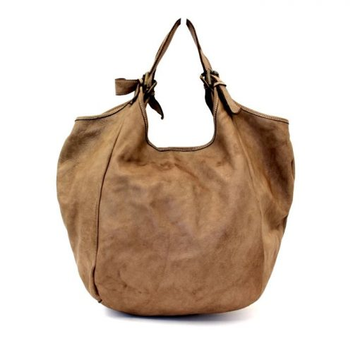 MATILDE Slouchy Hobo Bag Light Taupe
