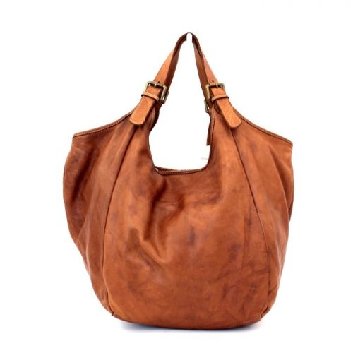MATILDE Slouchy Hobo Bag Tan