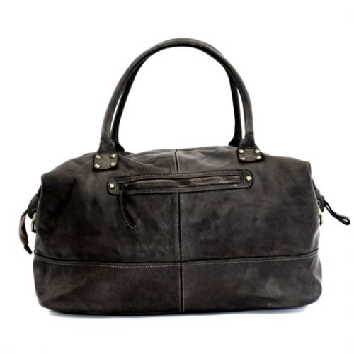 FIONA Large Duffle Weekender Travel Bag Black