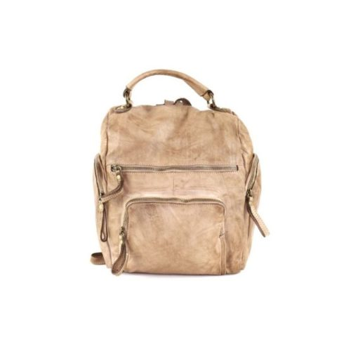 ELIA Small Backpack Beige