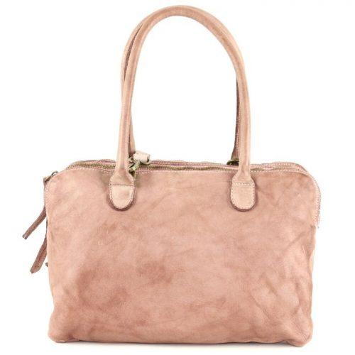 YOLANDA Shoulder Bag With Three Compartments Blush