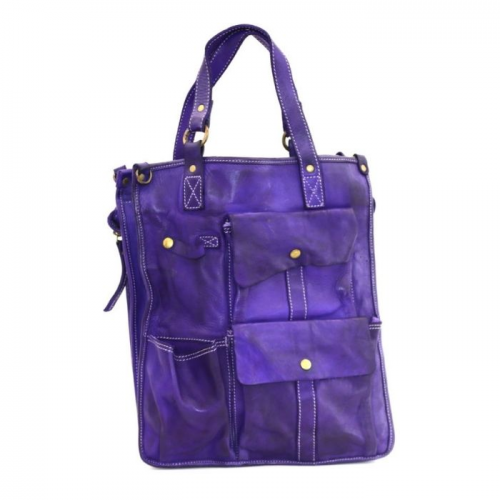 ROBYN Business Bag With Pockets Purple