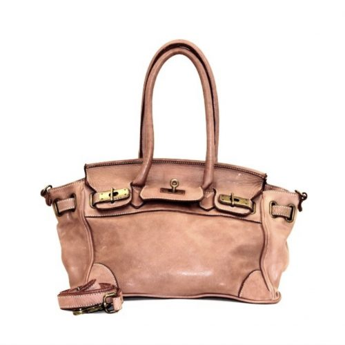 BABY ALICIA Small Structured Bag Blush