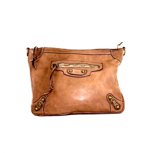 MARIA Large Pochette Tan