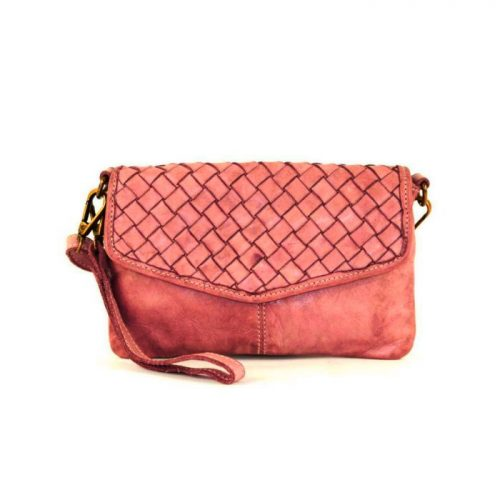 SELENE Wristlet Bag Terracotta