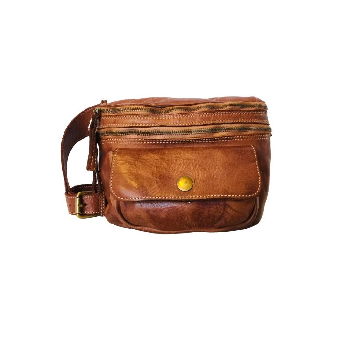 small leather bumbag