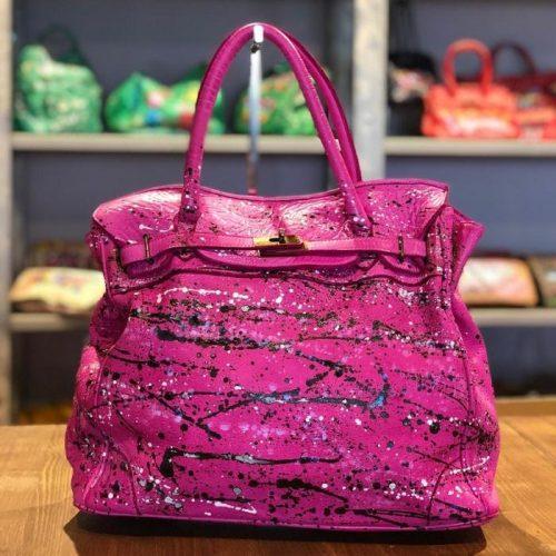 ALICIA Tote Bag Fuchsia Limited Edition