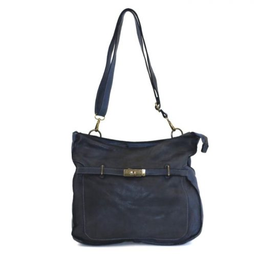 MIRIAM Crossbody Bag With Locket Navy