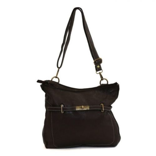 MIRIAM Crossbody Bag With Locket Black