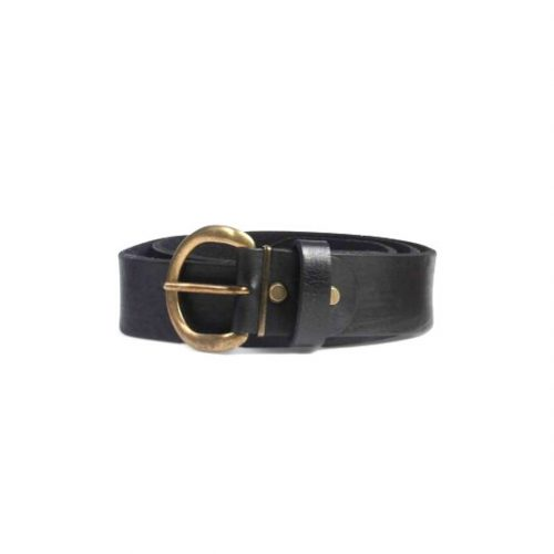 Classic Leather Belt – Black