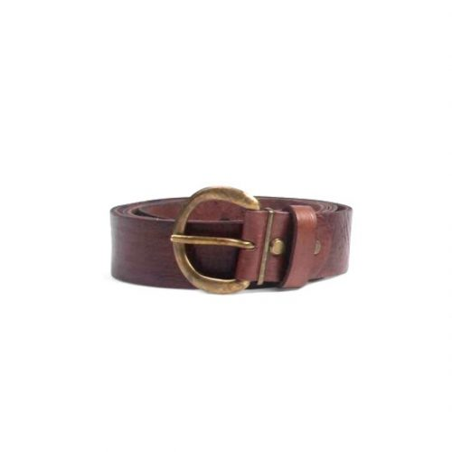 Classic Leather Belt – Chocolate