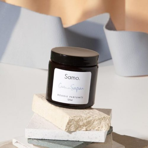 SCENTED TRAVEL SIZE CANDLE – Leather And Bergamot