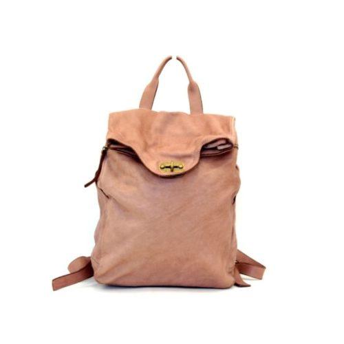 AURORA Backpack With Lock Blush