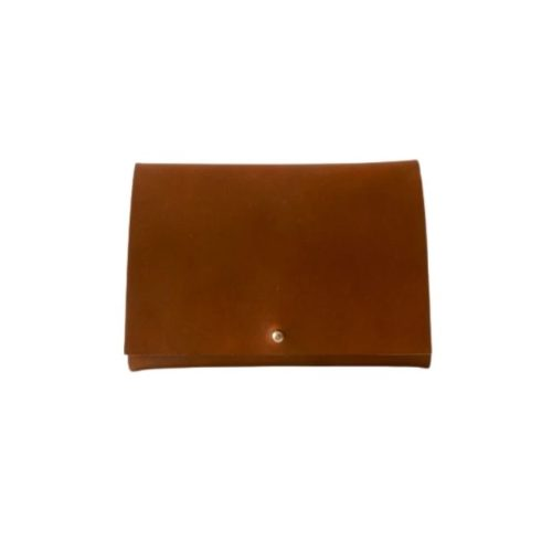 Leather Travel Wallet Tan