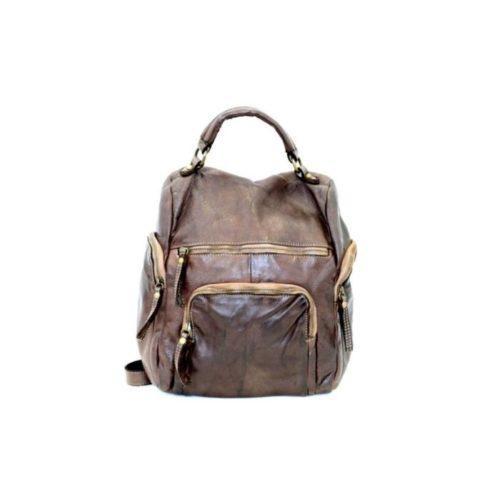 ELIA Small Backpack Dark Brown