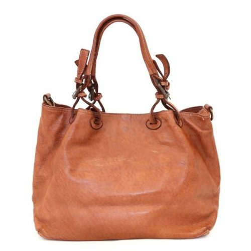 BABY LUCIA Small Tote Bag Smooth Terracotta