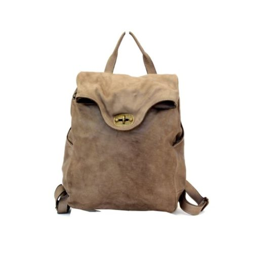 AURORA Backpack With Lock Taupe