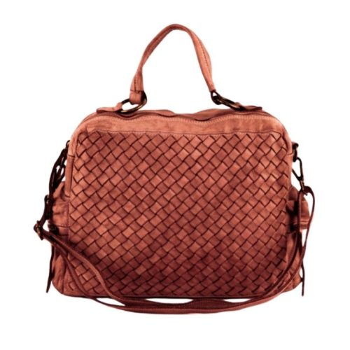 DILETTA Hand Bag Woven Terracotta